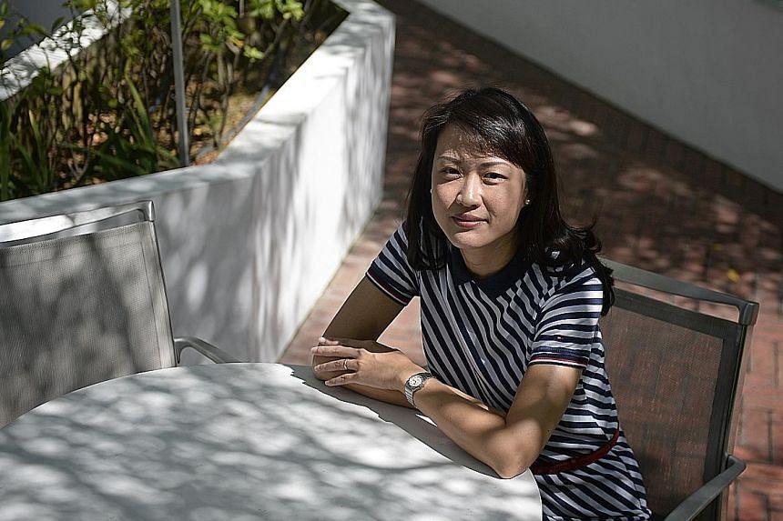"""Ms Tan says her parenting style has also changed """"as I've learnt more about myself""""."""