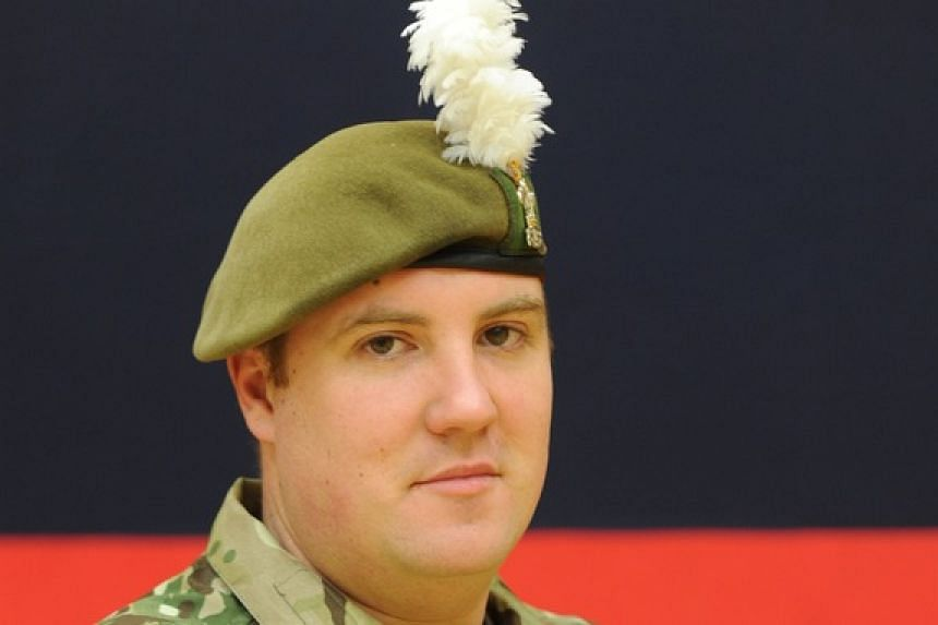 Campbell, 32, was on patrol when his unit came under enemy fire and he was struck by a single gunshot to the stomach.