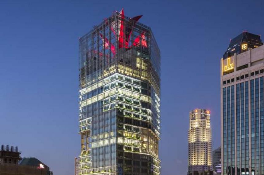 """The recently completed CapitaGreen tower in Market Street is """"a potential acquisition pipeline"""" for CapitaLand Commercial Trust, said the Reit's management."""