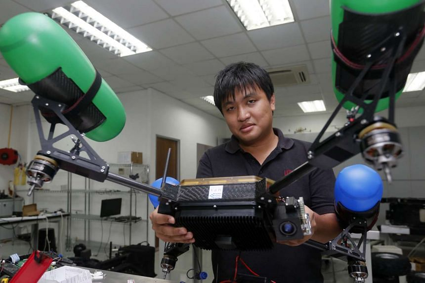 Engineer Chiew Yee Kin says the use of robots will be more widespread as perceptions towards them change over time.
