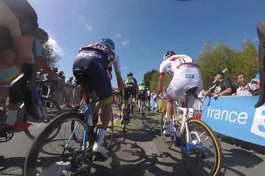 GoPro video cameras mounted on handlebars and social media have brought the Tour de France race much closer to fans.
