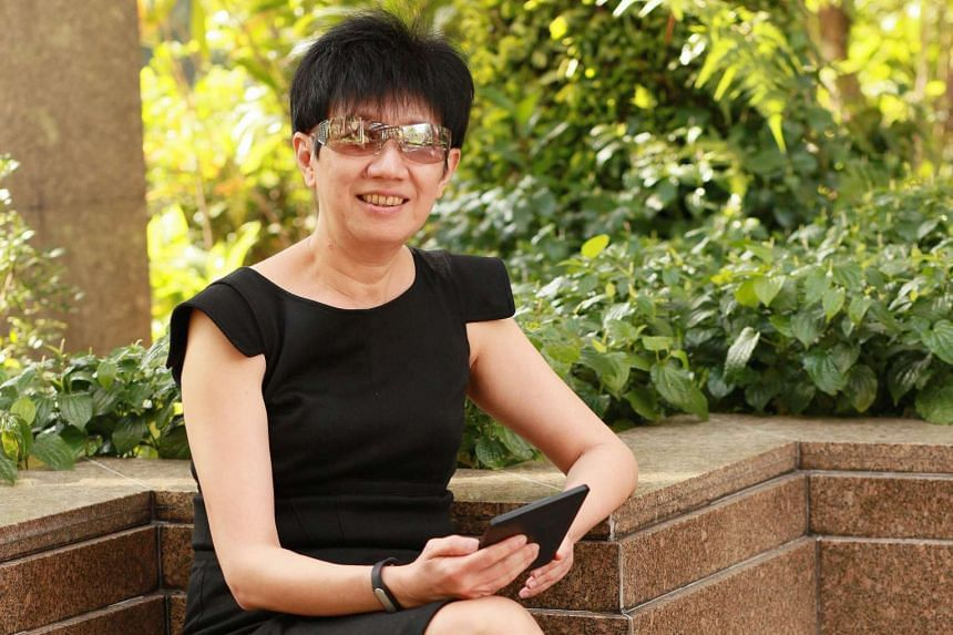 Ms Lim's prudent attitude to handling money stems from her poor family background and her profession as a human resource practitioner, which requires her to interview job candidates.