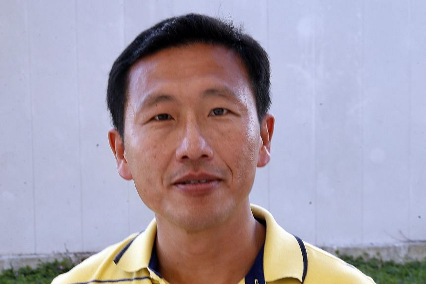 Keppel Corporation's director of group strategy Ong Ye Kung.