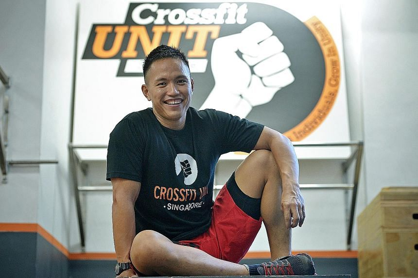 CrossFit trainer Melvin Fu has not regretted his decision to quit his job as a commodities trader and start his own business, because he feels that he has helped his clients transform their lives.