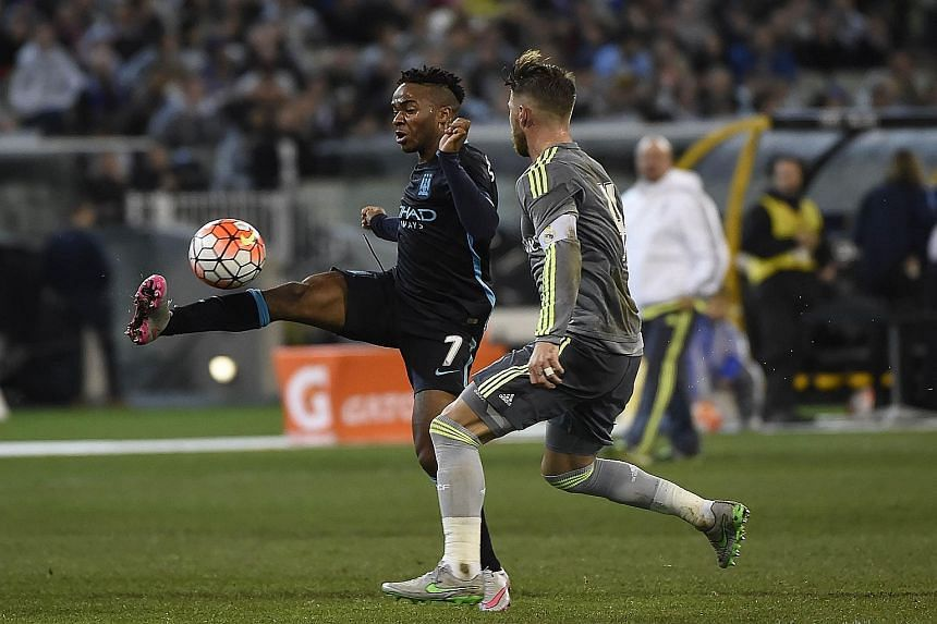 New Man City signing Raheem Sterling could deputise for striker Sergio Aguero for the start of the new EPL season, as the Argentinian works his way back to full fitness after his Copa America exertions.