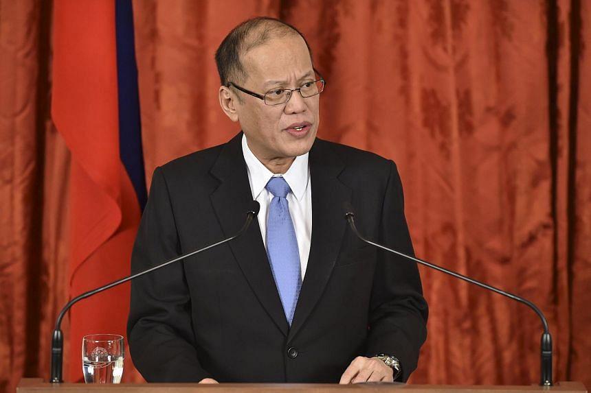Philippine President Benigno Aquino addresses parliament for the last time on Monday.