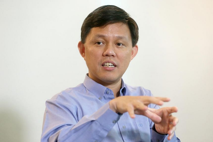 """Minister in the Prime Minister's Office Chan Chun Sing said that opposition parties contesting Tanjong Pagar GRC must serve residents """"consistently and genuinely"""", and not just contest the GRC to make a political statement."""