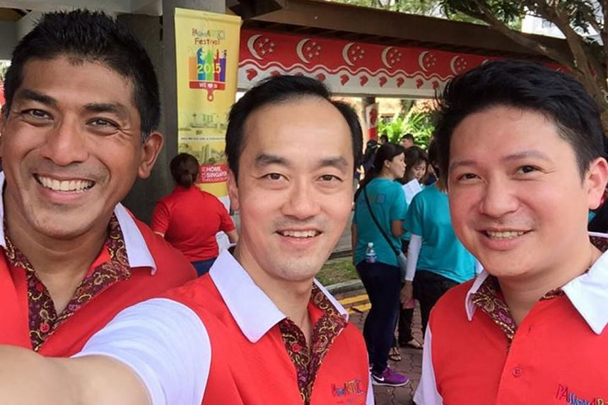 From left: Mr Darryl David, Dr Koh Poh Koon and Mr Henry Kwek are likely replacements for Ang Mo Kio GRC MPs Yeo Guat Kwang, Seng Han Thong and Inderjit Singh.