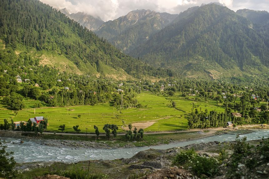 Mr Sunil Kaul says Kashmir has one of the most beautiful landscapes (above) in the world.