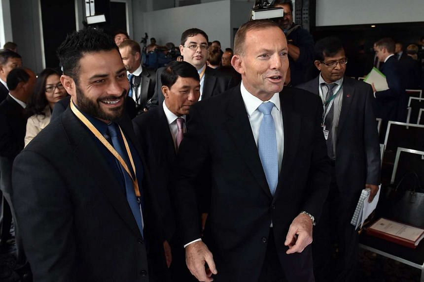 Tony Abbott urged Asia-Pacific nations to help fight jihadist groups as he opened a regional summit on the issue with a warning that Islamic State has global ambitions.