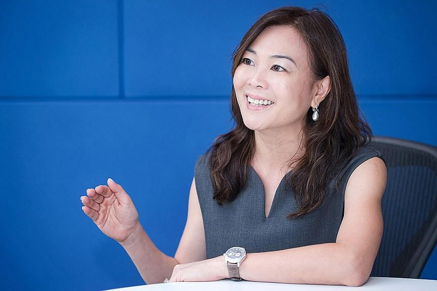 Ms Ooi Huey Tyng joined Visa in 2012, when its contactless payment system PayWave had a 2 per cent share of Visa face-to-face transactions. That has since soared to almost 30 per cent.