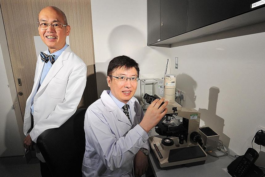 Professor P.C. Wong (with bow tie) and Associate Professor Bian Jinsong led the study on hydrogen sulphide as a treatment for male infertility.