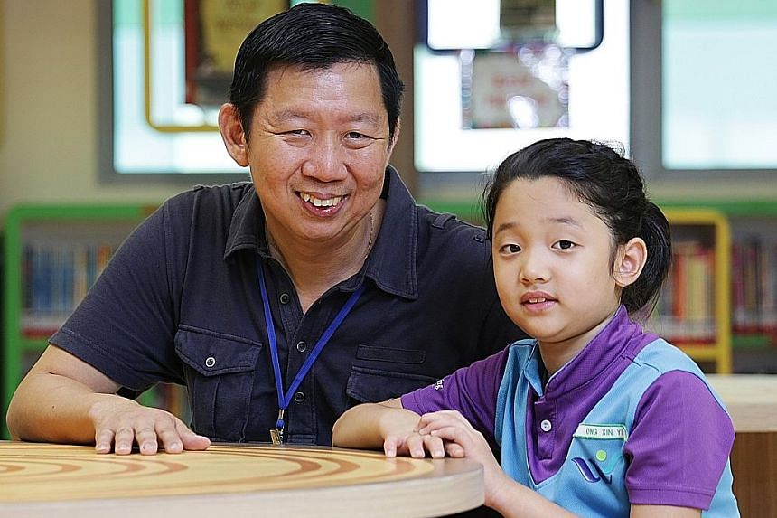 MR ONG HAI YONG, who picked West Spring for daughter Xin Yi because of its fresh approach and committed staff
