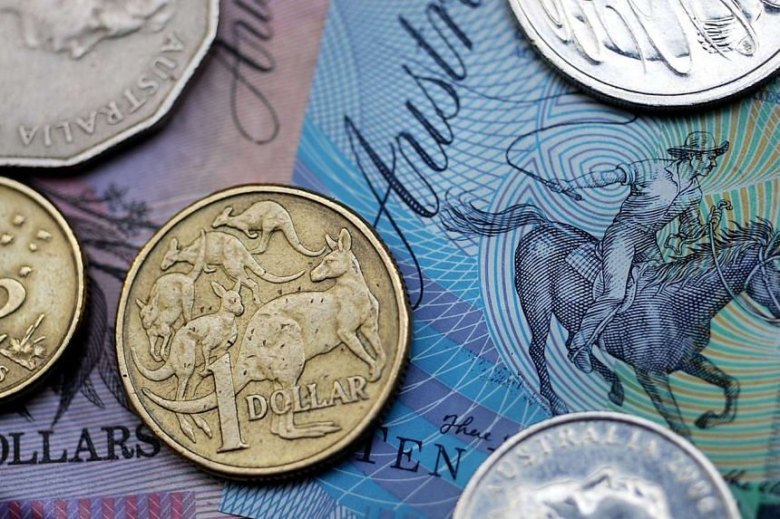 Australian bank notes and coins.