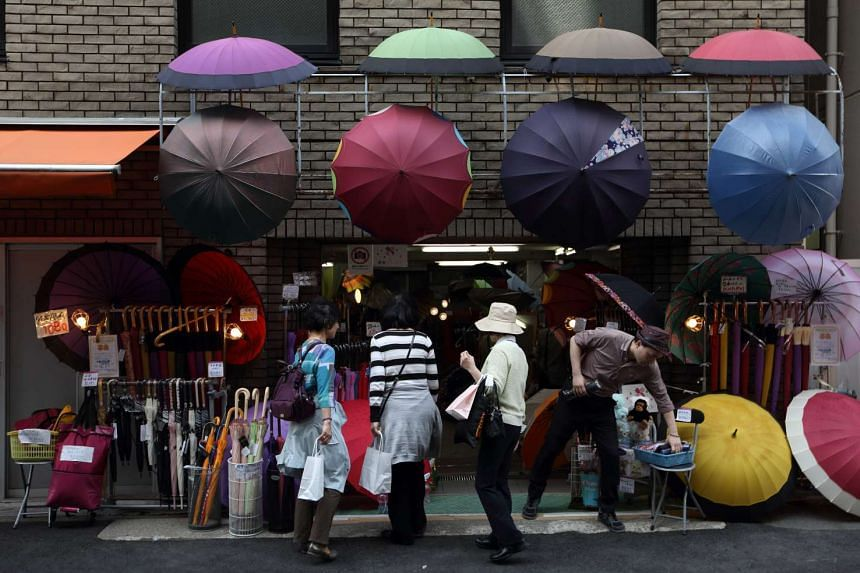 The Japanese economy likely contracted last quarter, dragged down by weak consumer spending and a slump in exports.