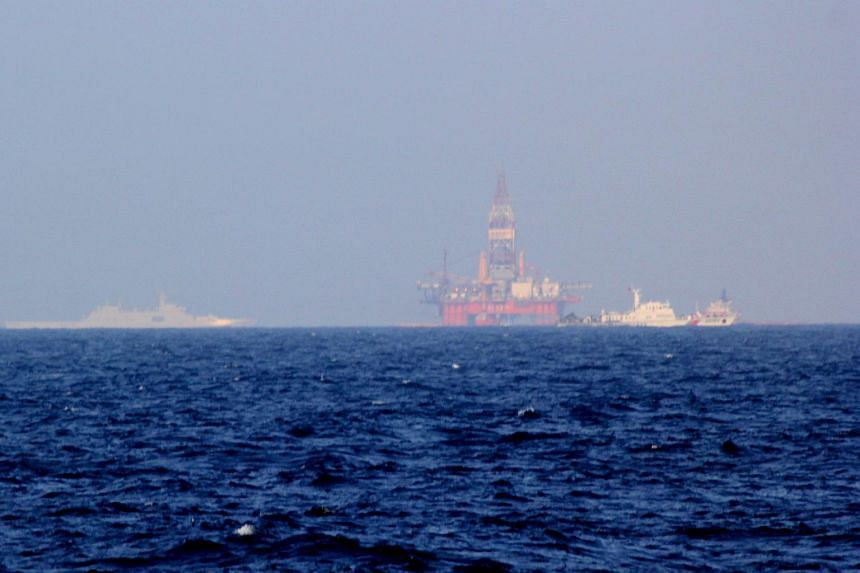 Vietnam accused Chinese boats of repeatedly ramming Vietnamese vessels near disputed waters in the South China Sea where China has placed an oil drilling platform near the Paracel Islands.