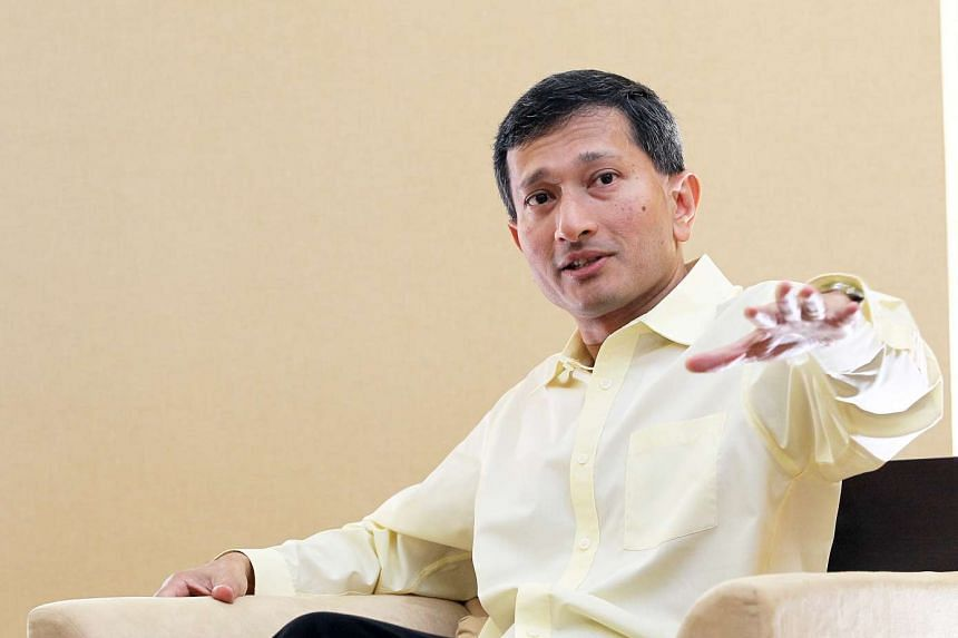 Dr Vivian Balakrishnan, Minister for the Environment and Water Resources.