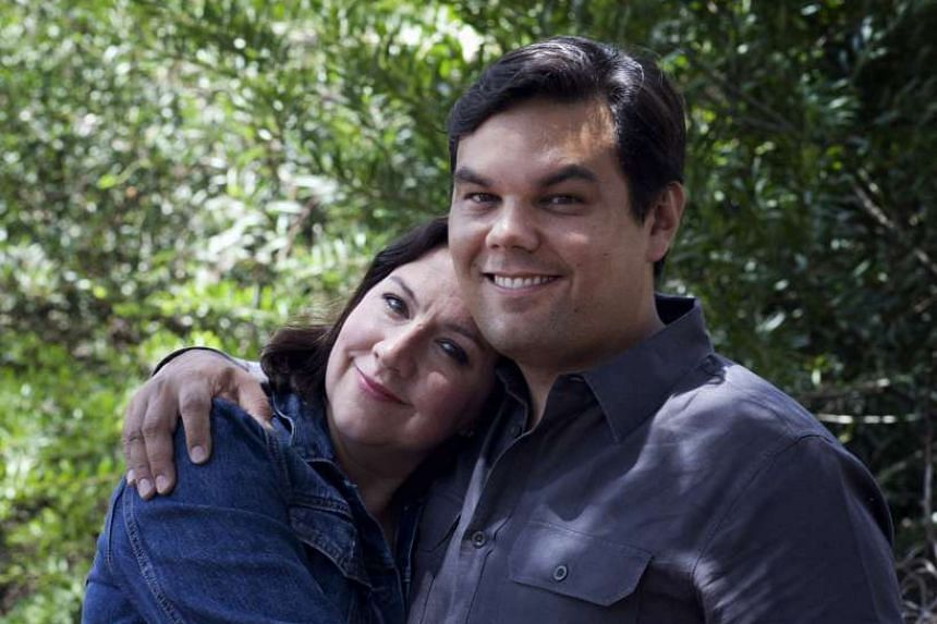 Married songwriting couple Robert Lopez and Kristen Anderson-Lopez have a new show, Up Here, at the La Jolla Playhouse.