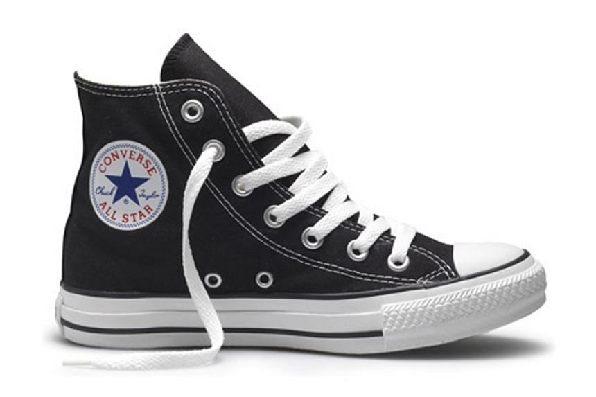 The iconic sneaker by Converse, the Chuck Taylor All Star (above), has been altered to be more wearable.