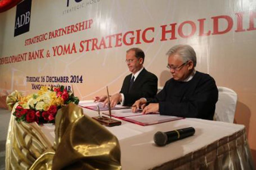 Yoma Strategic Holdings announced on Monday a 77.7 per cent jump in net profit to $2.56 million.