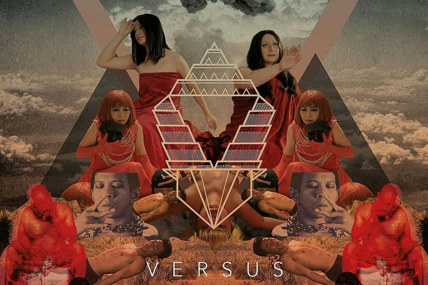Versus (above) is written by Michelle Tan (far left) and directed by Natalie Hennedige (left). (Left, from main picture) Taiwan Dreams Episode 1: Dream Hotel, Cabanons and Cabinet Of Curiosities.