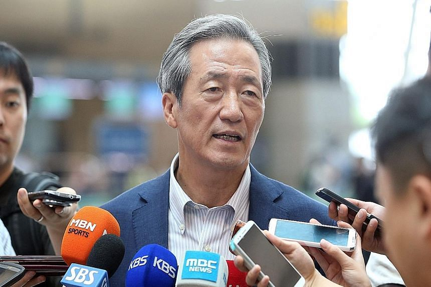 Chung Mong Joon, who is expected to announce his candidature for the presidency of Fifa, is a critic of Sepp Blatter's regime. The South Korean has said that the successor must implement reforms in the corruption- tainted organisation.
