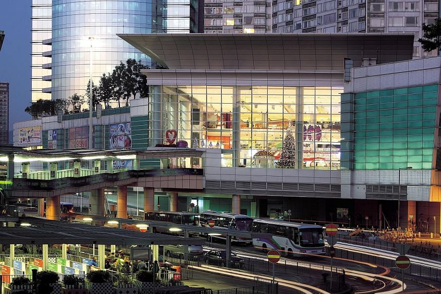 The Metropolis Mall in Hong Kong is part of Fortune Reit's portfolio of 17 retail properties in the territory valued at HK$35.3 billion as of June 30, a 7.7 per cent increase from Dec 31.