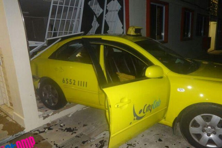 It is believed that the driver said his taxi's brakes were not functioning well.