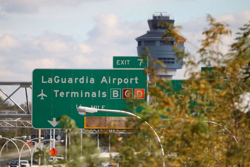 New York's LaGuardia Airport.