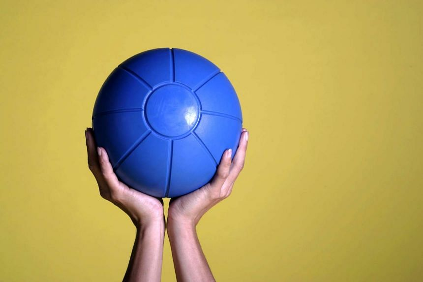 In exercise sessions, medicine balls are used to replace stones, and balance beams replace fallen tree trunks.