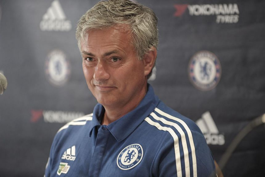Chelsea manager Jose Mourinho speaks during a press conference in Montreal, Canada on July 21, 2015.