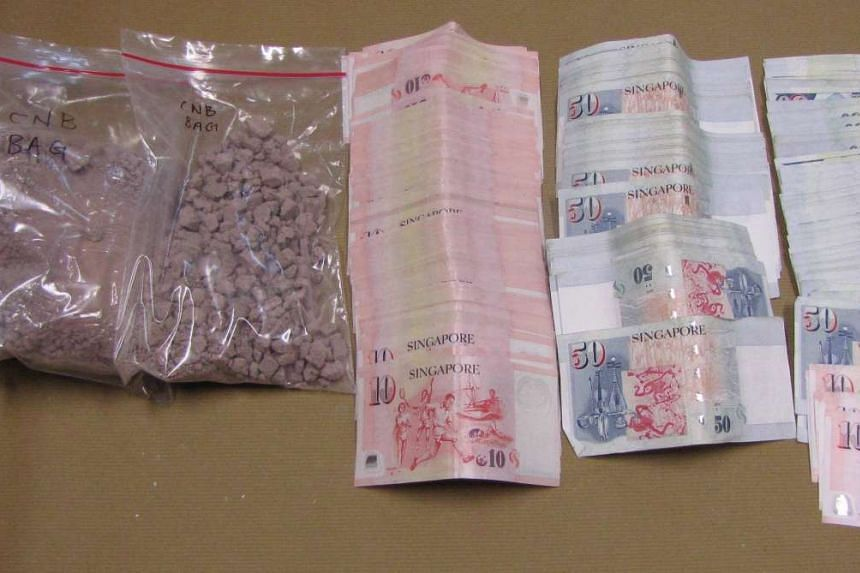 The seized bundles were found to contain heroin with an estimated street worth of more than $80,000.