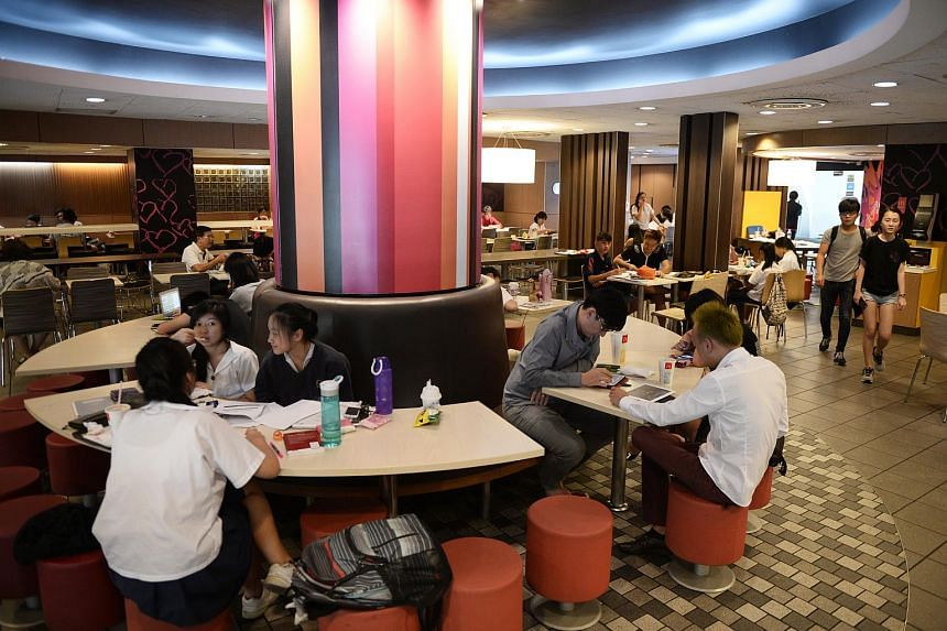 All 123 McDonald's restaurants across Singapore will be equipped with Singtel's WiFi connections.