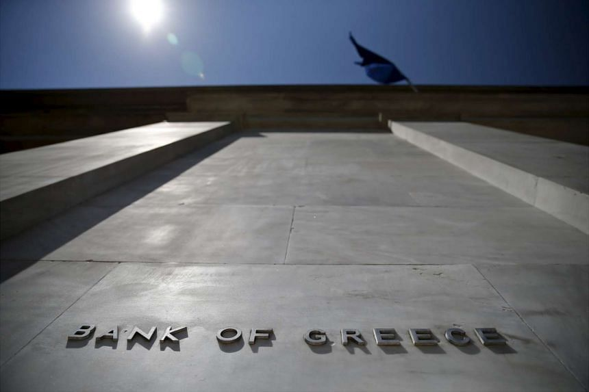 Spokesmen for the Bank of Greece, the ECB and the Greek finance ministry weren't immediately available for comment.