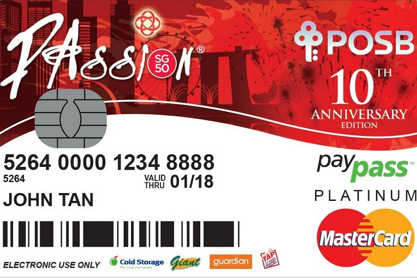 PAssion POSB Debit Card