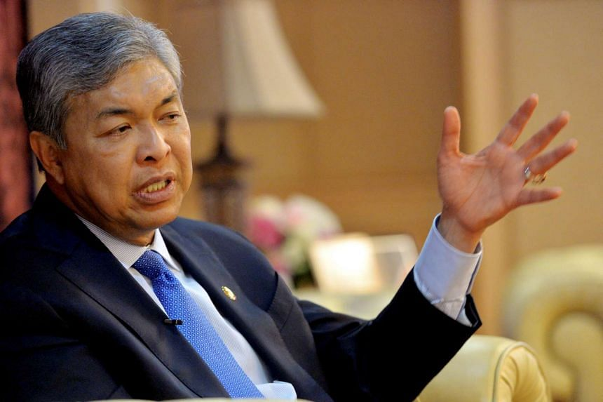 Current Malaysia's Home Minister, Zahid Hamidi will be the new deputy prime minister.