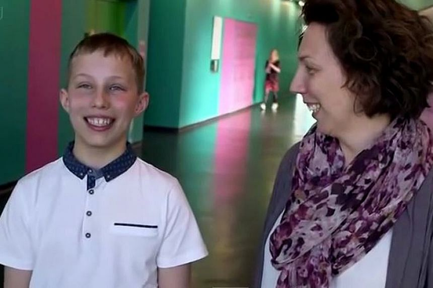Twelve-year-old Thomas Frith has streaked ahead in a contest to find Britain's brainiest child.