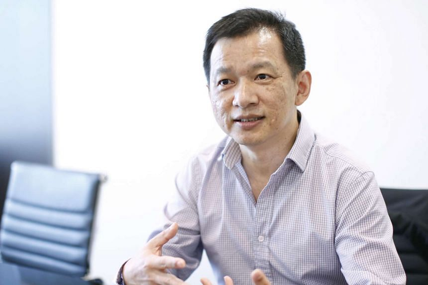 Mr Yong Yean Chau, chief executive officer of the Reit manager.