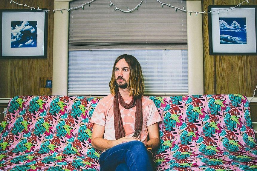 Kevin Parker of Australian psychedelic-rock band Tame Impala.