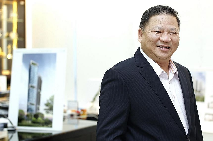 Lian Beng, led by executive chairman Ong Pang Aik (above), intends to continue to increase recurring income from dormitory, property investment and construction- related services.