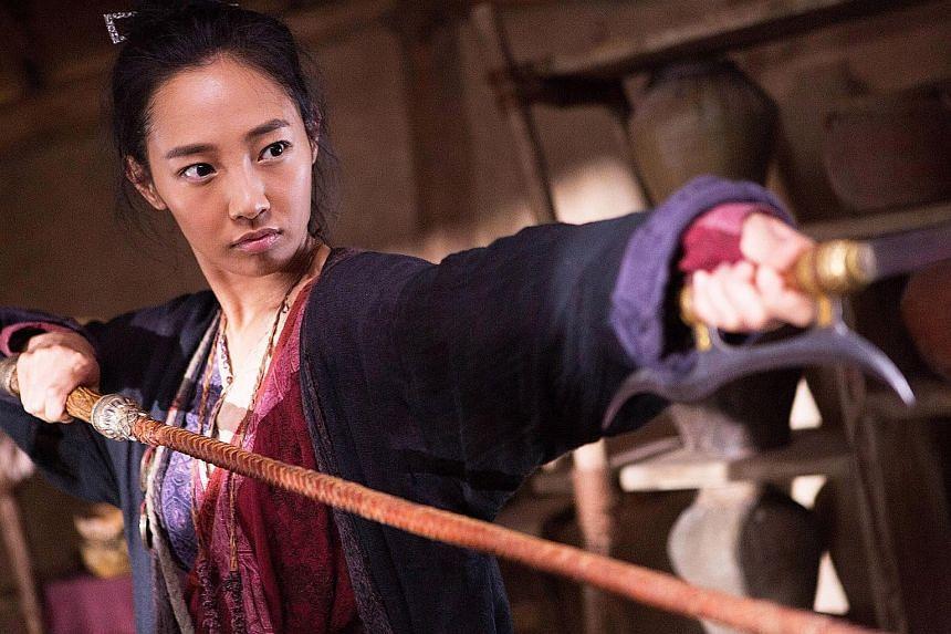 Monster hunter Bai Baihe in the hit film.