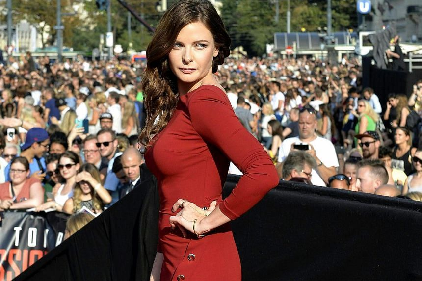 Rebecca Ferguson overcame her vertigo to do her own stunts in Mission: Impossible - Rogue Nation.