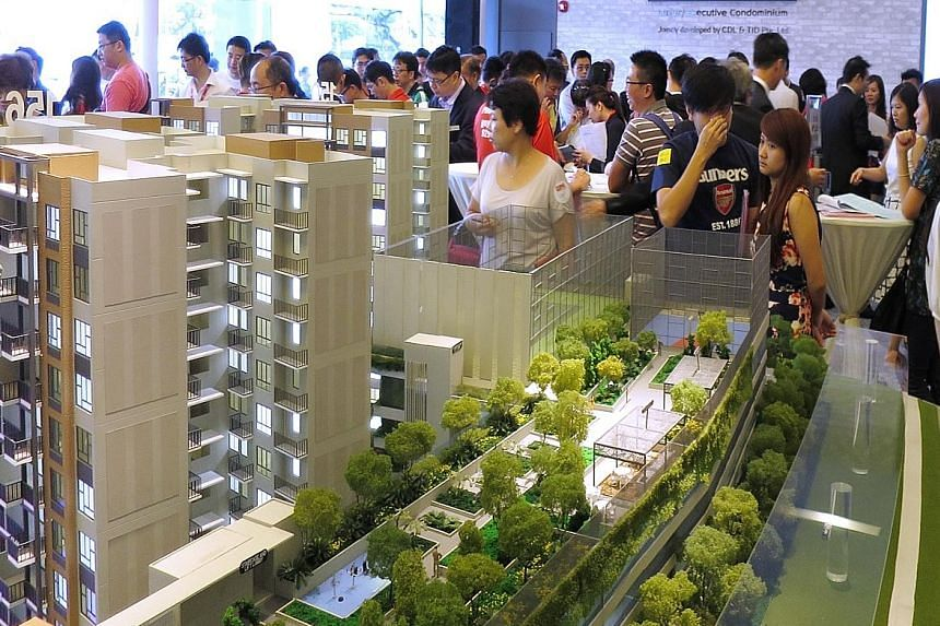 Last weekend, buyers snapped up 185 units at the launch of The Brownstone, a 638-unit EC in Sembawang, the most sold at an EC launch this year.