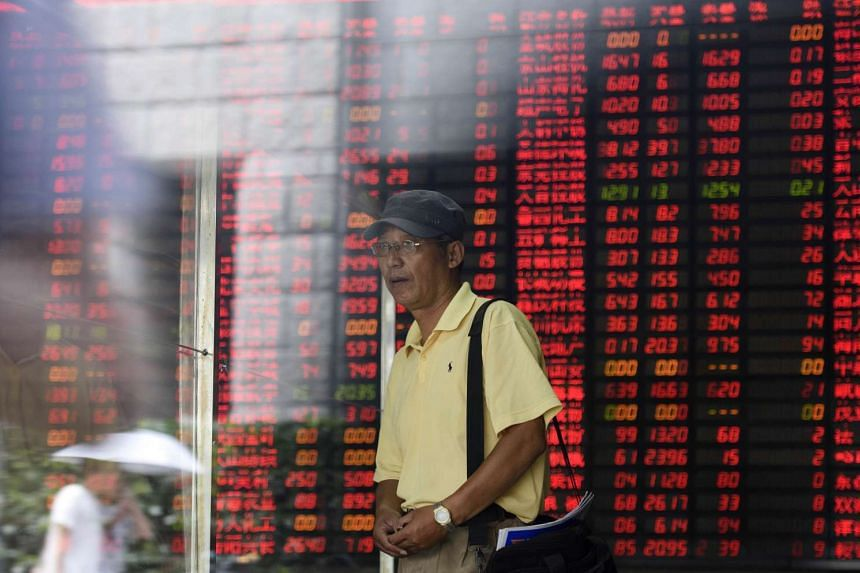 The benchmark Shanghai Composite Index was down 0.21 per cent at 3,655.27 by the break Wednesday.