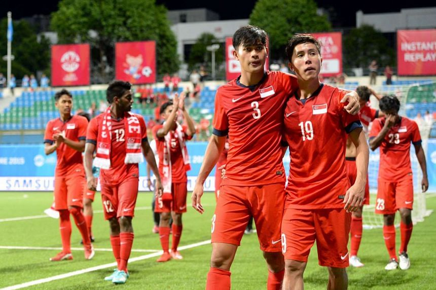 The Young Lions became the first Singapore side not to make the last four at a Games on home soil.