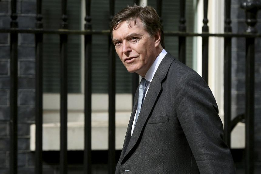 Britain's minister for defence procurement Philip Dunne.
