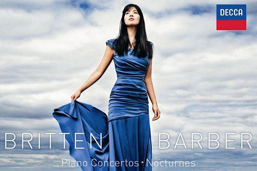 Britten, barber piano concertos