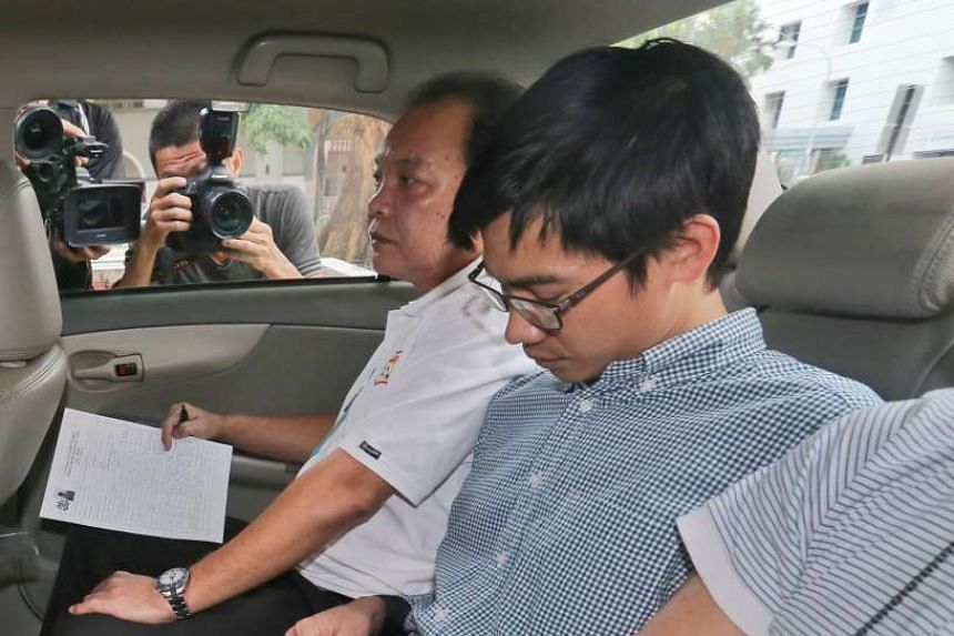 Myanmar national Yae Wynnt Oaung (with spectacles), accused of abetting others in a conspiracy to murder a fellow countryman, was denied bail on Wednesday, July 29, 2015.