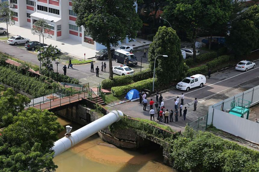 A topless body of headless woman was found in Whampoa River near McNair Road and St George's Lane on December 12, 2013.