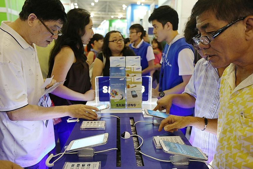 In the first quarter of this year, phablets drove up overall smartphone shipments by 60 per cent to 1.2 million units, according to IDC.